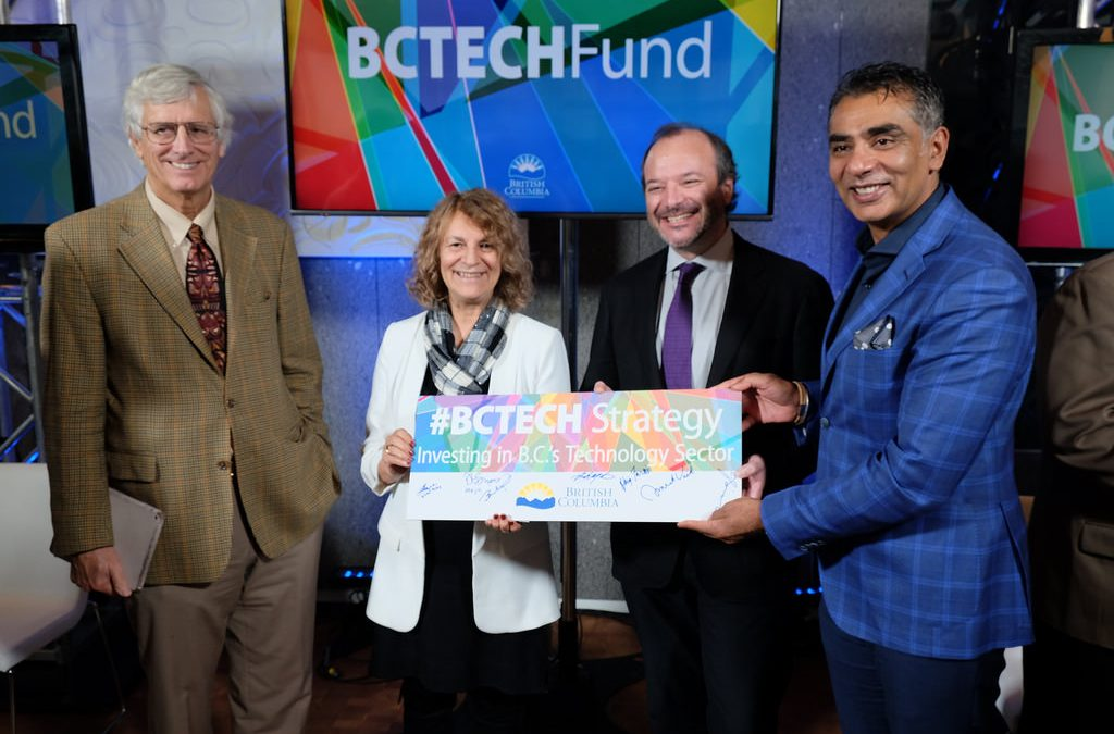 B.C. Launches new $100 million Technology Start Up Fund