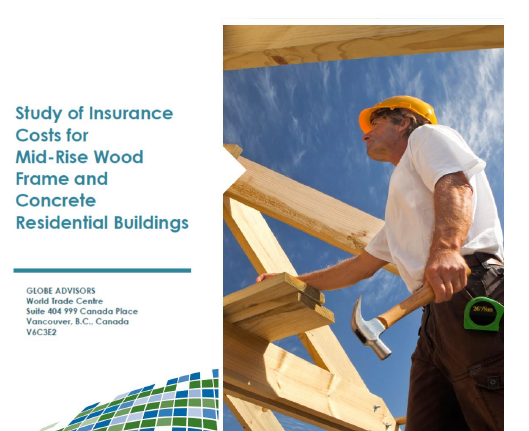 Study of Insurance Costs for Mid-Rise Wood Frame and Concrete Residential Buildings